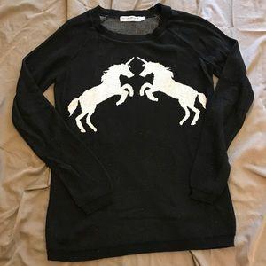 Unicorn Sweater Size L